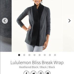 Bliss break wrap